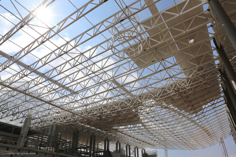 Строительство нового терминала аэропорта
